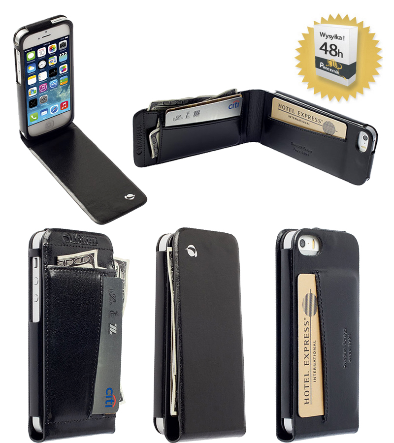 etui krusell wallet kalmar iphone 5 5s 5c czarne. Black Bedroom Furniture Sets. Home Design Ideas