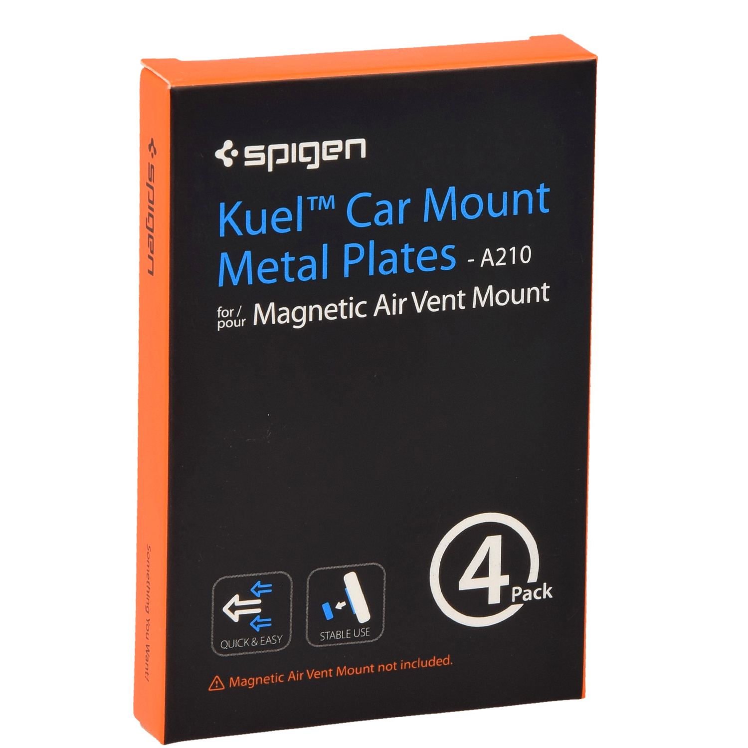 Spigen Kuel Car Mount Metal Plates
