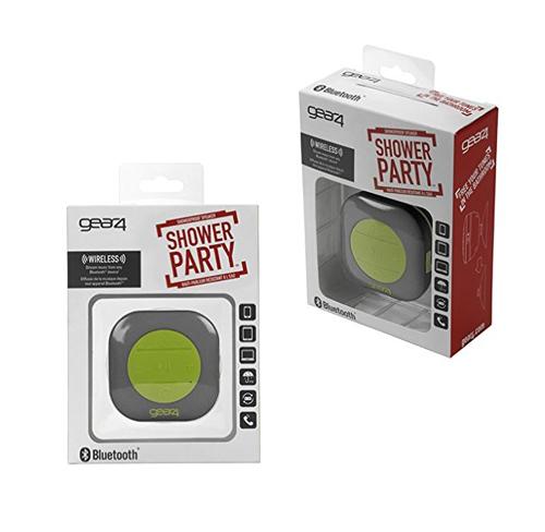 Głośnik gear4 Shower Party szaro-zielony