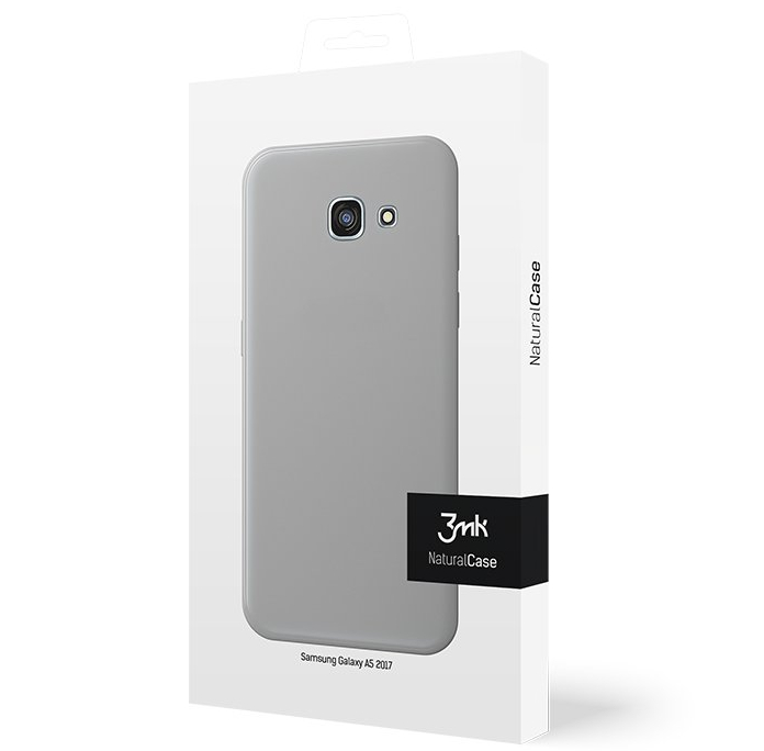 Cienkie etui 3mk NaturalCase 0,3mm do Samsung Galaxy A5 2017, transparentne białe (White).
