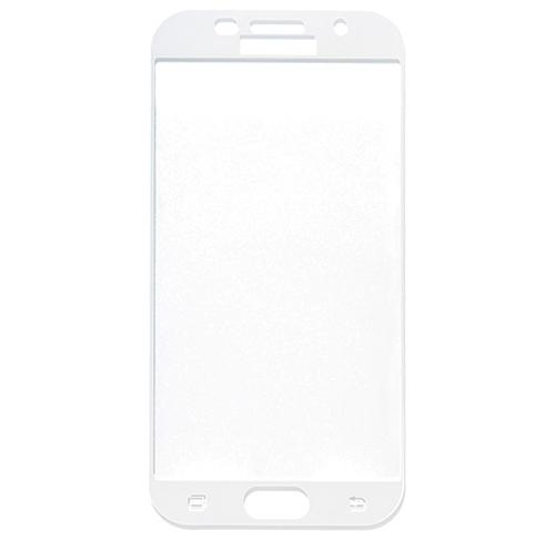 Szkło Hartowane MyScreen FullCover Glass Galaxy A5 2017 na cały ekran, białe