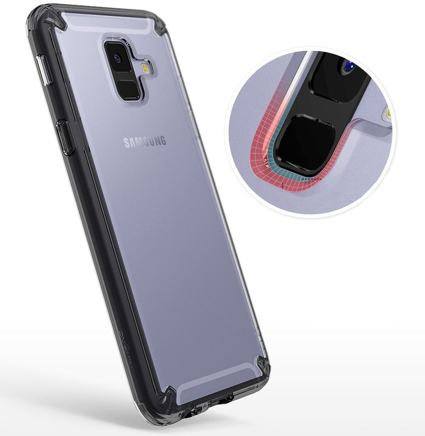 Etui Rearth Ringke Fusion do Galaxy A6 2018
