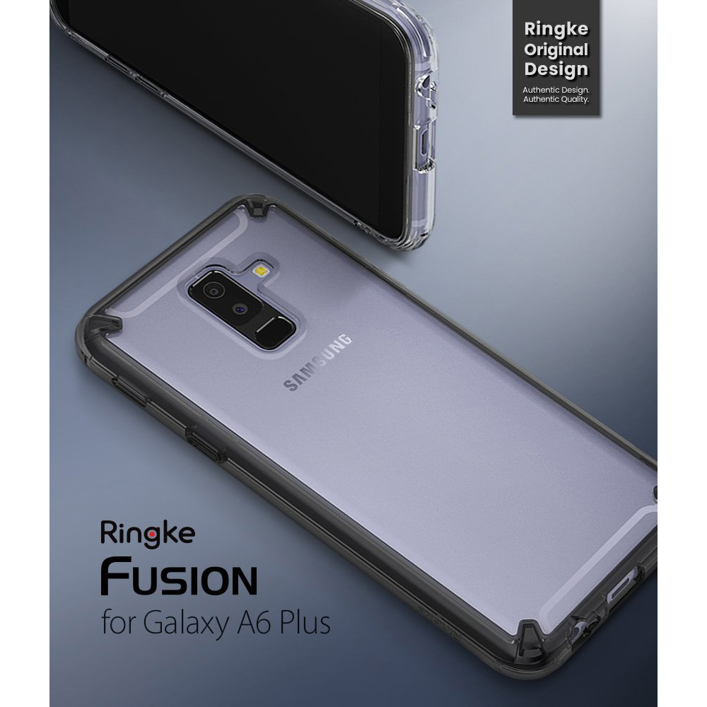 Etui Rearth Ringke Fusion do Galaxy A6 Plus 2018