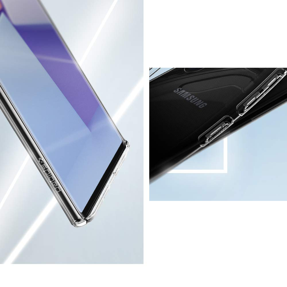 Etui Spigen Crystal Flex dla Galaxy Note 10 Plus