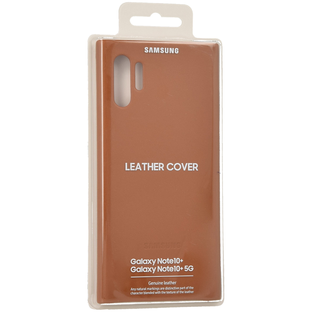 Etui Samsung Leather Cover dla Galaxy Note 10 Plus