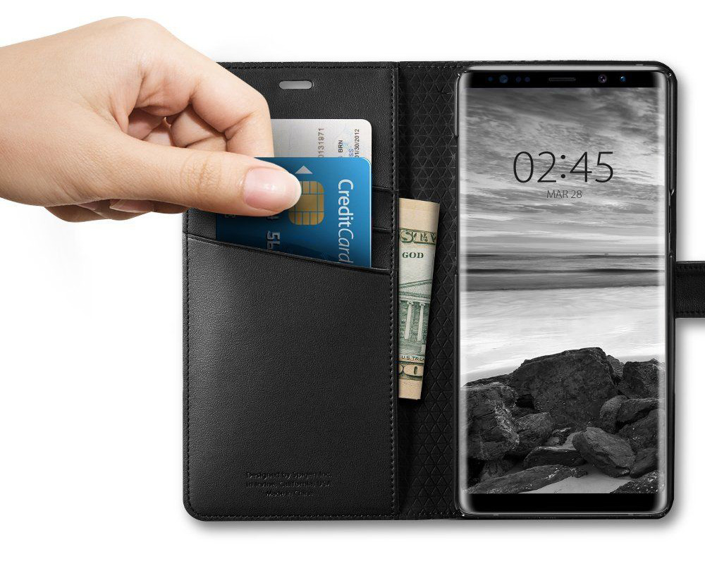 Etui Spigen Wallet S dla Galaxy Note 8
