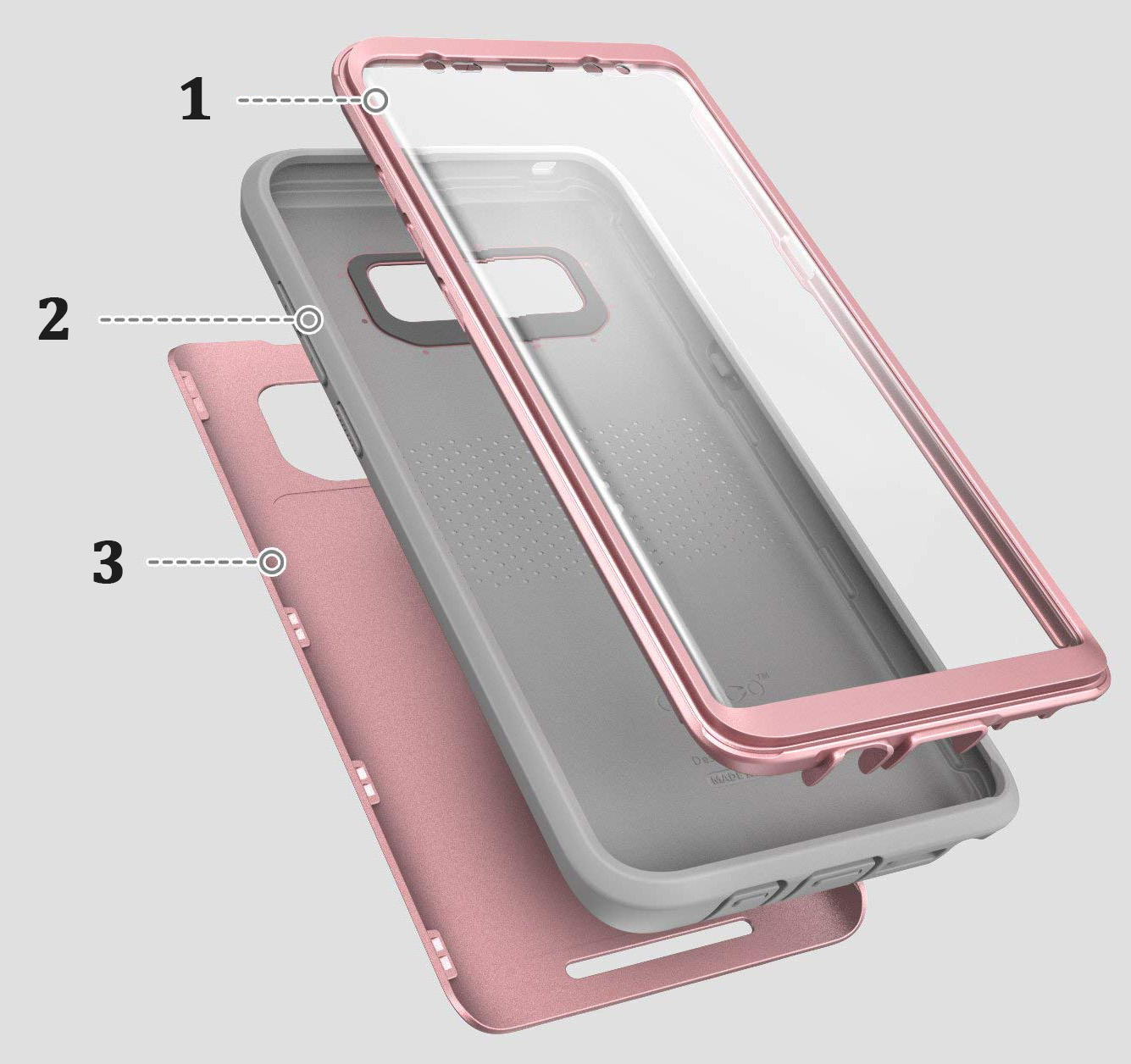 Etui pancerne Supcase Clayco Hera do Galaxy Note 8