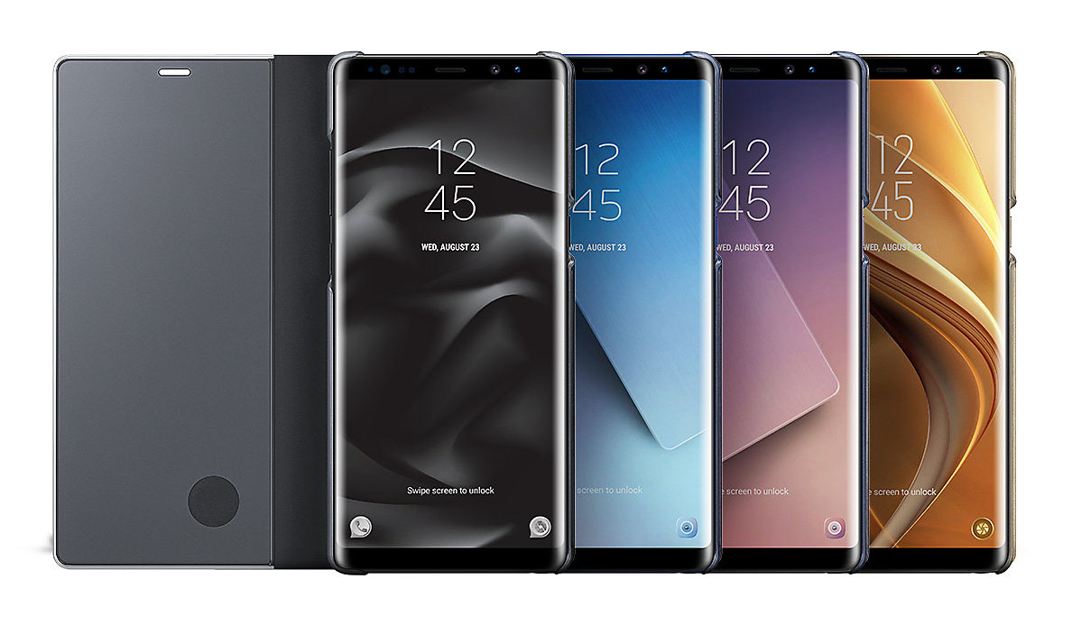 Etui z klapka funkcyjną Samsung Clear View Standing Cover do Galaxy Note 8.
