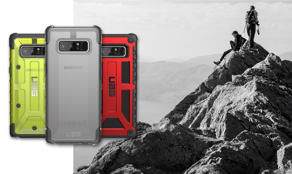 Etui Urban Armor Gear Plasma dla Galaxy Note 8