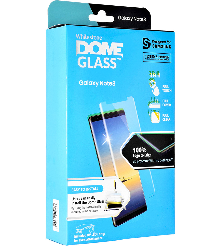 Szkło hartowane Whitestone DOME Glass do Galaxy Note 8