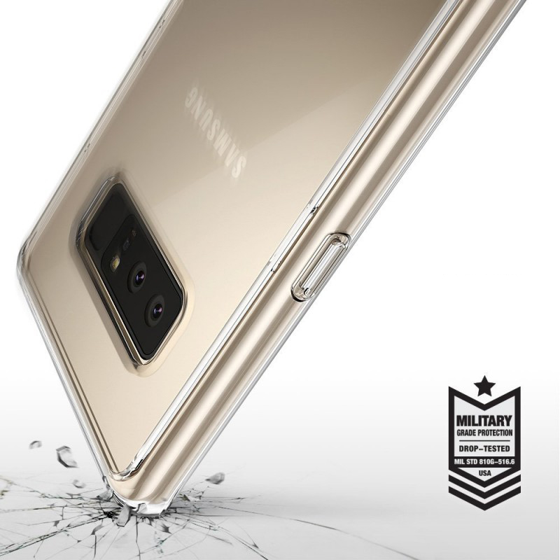Etui Rearth Ringke Fusion do Samsung Galaxy Note 8, przezroczyste..
