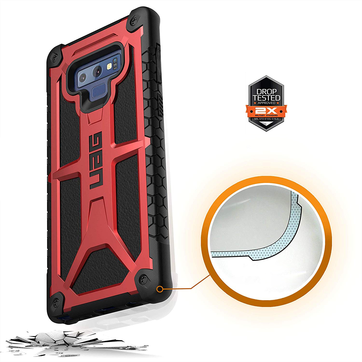 Etui Urban Armor Gear Monarch dla Samsung Galaxy Note 9