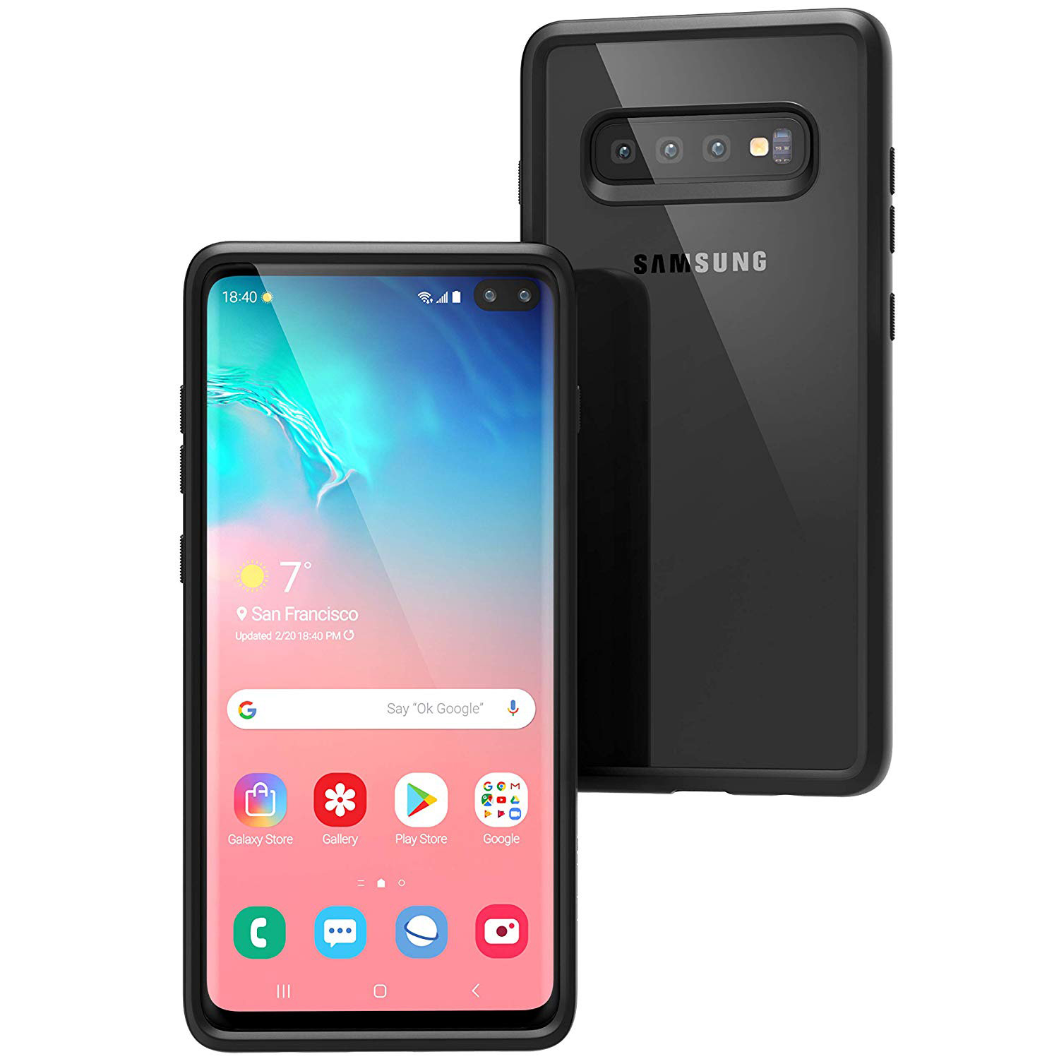 Odporne etui Cataclyst Impact Protection dla Galaxy S10 Plus