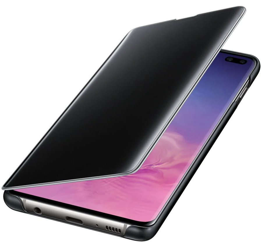 Etui z klapka funkcyjną Samsung Clear View Cover do Galaxy S10 Plus