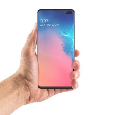 Folia ochronna na cały ekran Zagg InvisibleShield Ultra Clear Galaxy S10 Plus