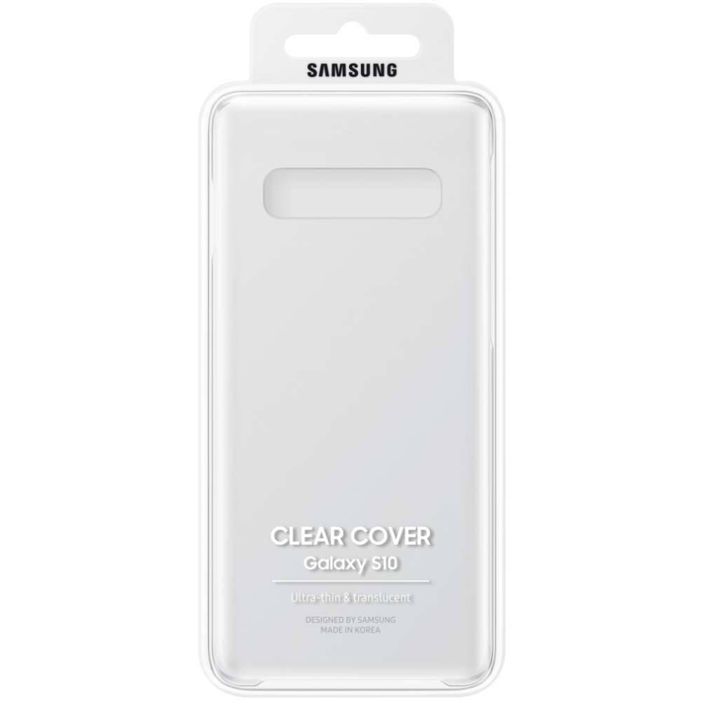 Etui Samsung Clear Cover do Galaxy S10