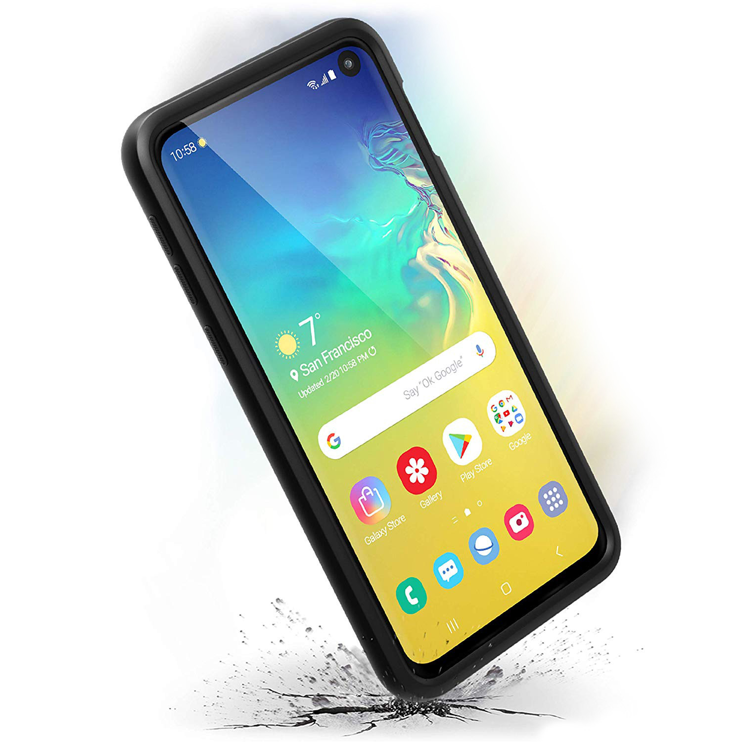 Odporne etui Cataclyst Impact Protection dla Galaxy S10e