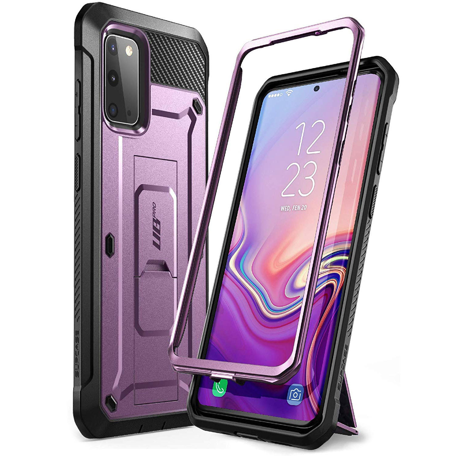 Etui pancerne Supcase Unicorn Beetle Pro do Galaxy S20