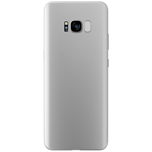 Cienkie etui 3mk NaturalCase 0,3mm do Samsung Galaxy S8+, transparentne białe (White).