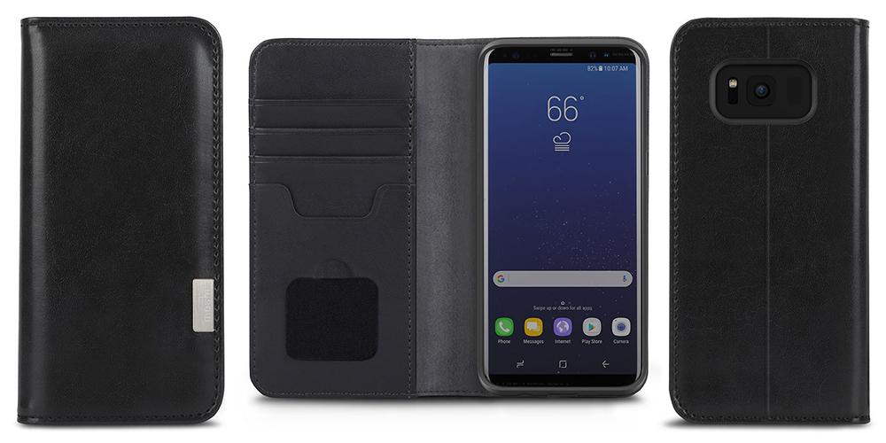 the latest 2ef2c c630f Etui Moshi Overture Galaxy S8 Plus, czarne (Charcoal Black)