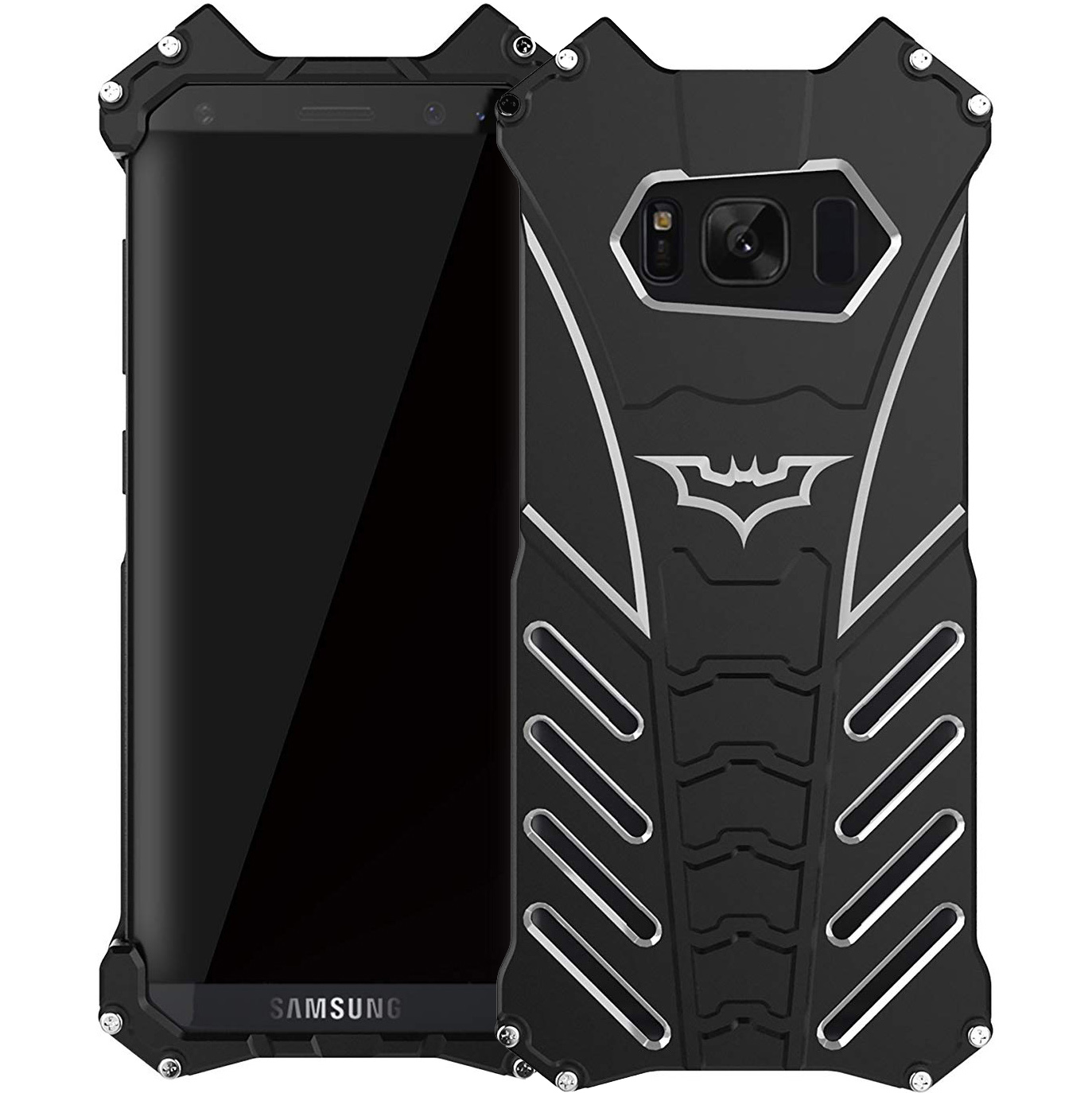 Oryginalne etui marki R-Just Batman case dla Galaxy S8 Plus