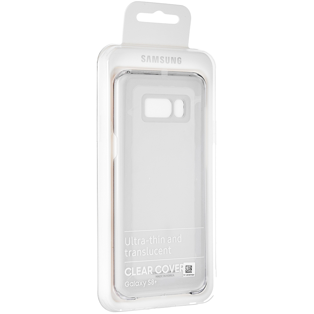 Etui Samsung Clear Cover do Galaxy S8 Plus caseA
