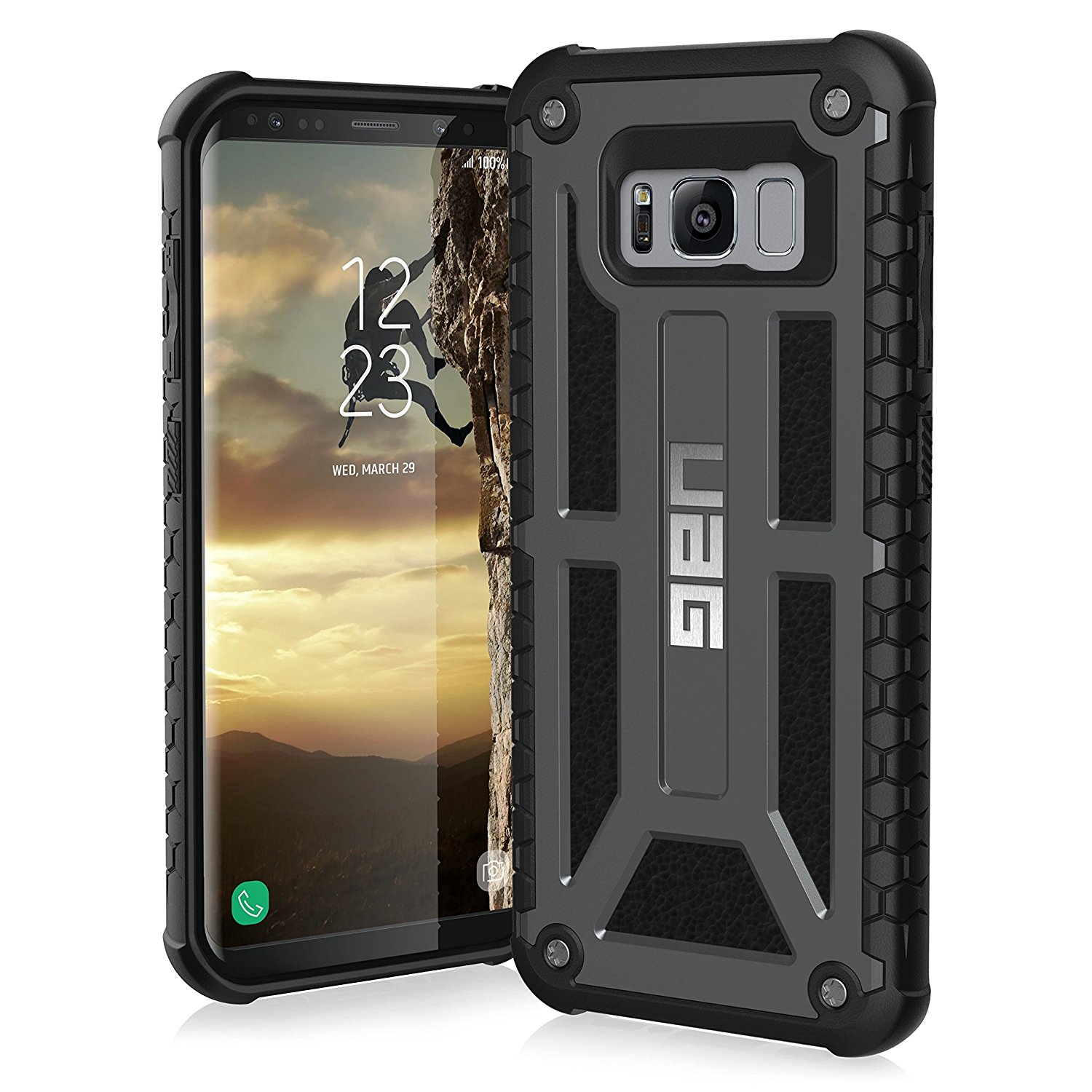 Etui Urban Armor Gear Monarch dla Galaxy S8 Plus front