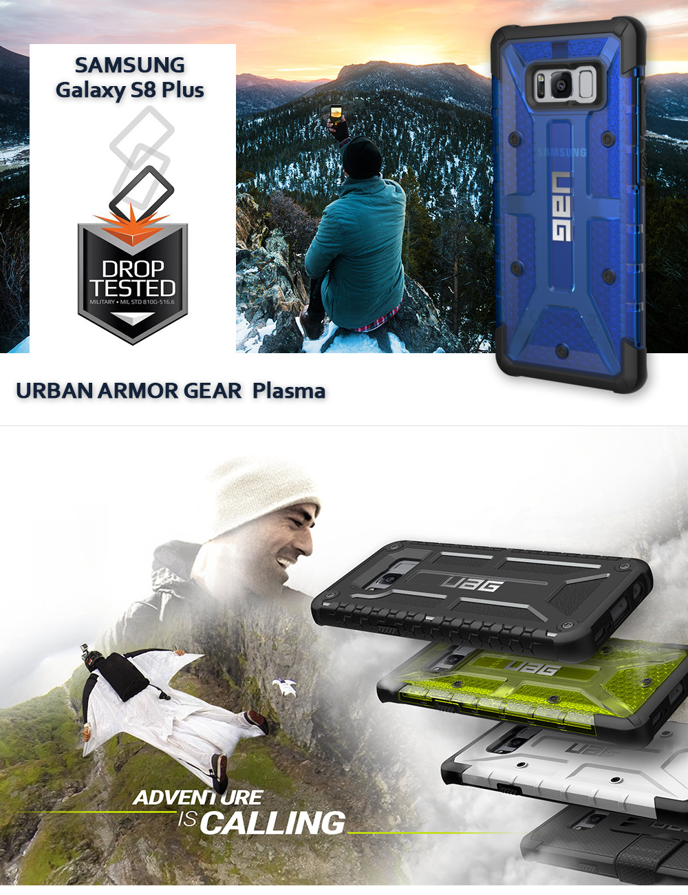 Etui Urban Armor Gear Plasma dla Galaxy S8 Plus