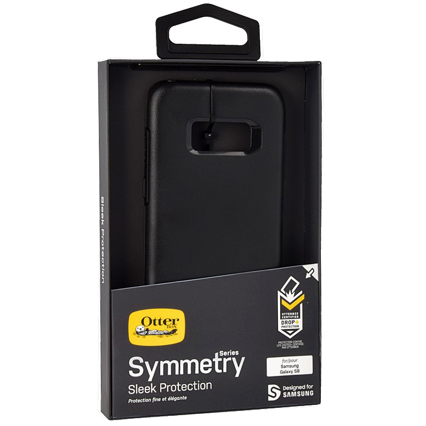 Etui pancerne OtterBox Symmetry Series do Galaxy S8, czarne.