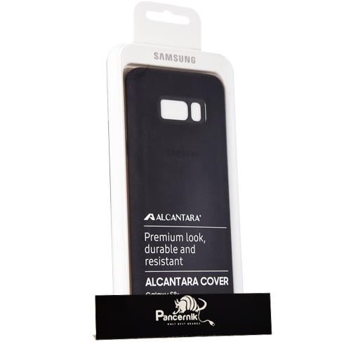 Etui Samsung Clear Cover Galaxy S8, DARK GRAY