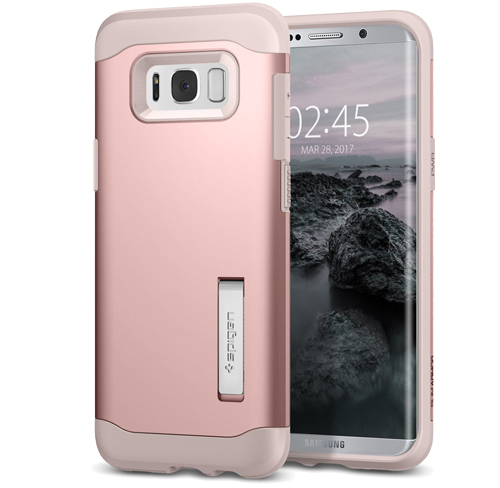 Spigen slim armor galaxy s8 rose gold