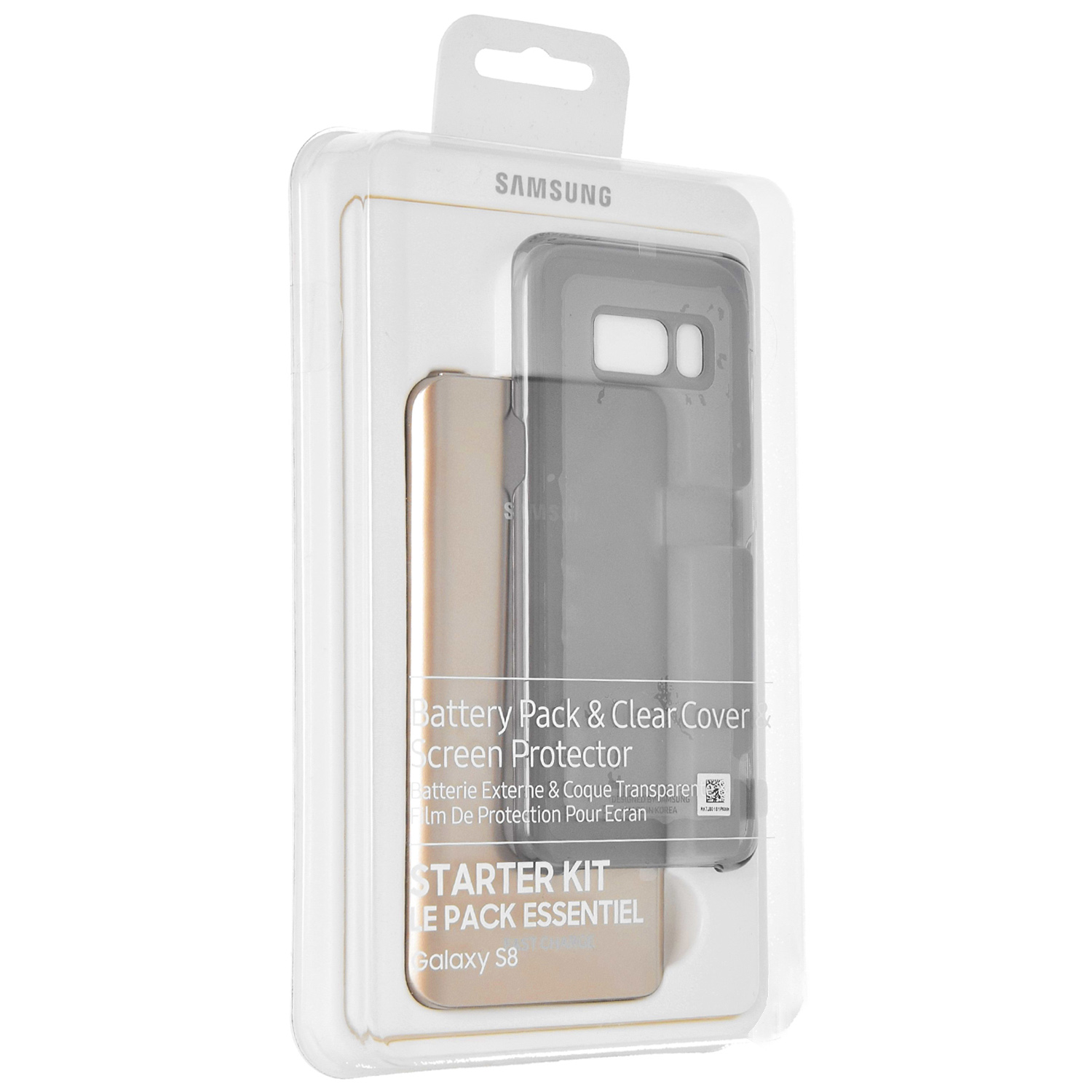 Etui Samsung Clear Cover do Galaxy S8 caseA