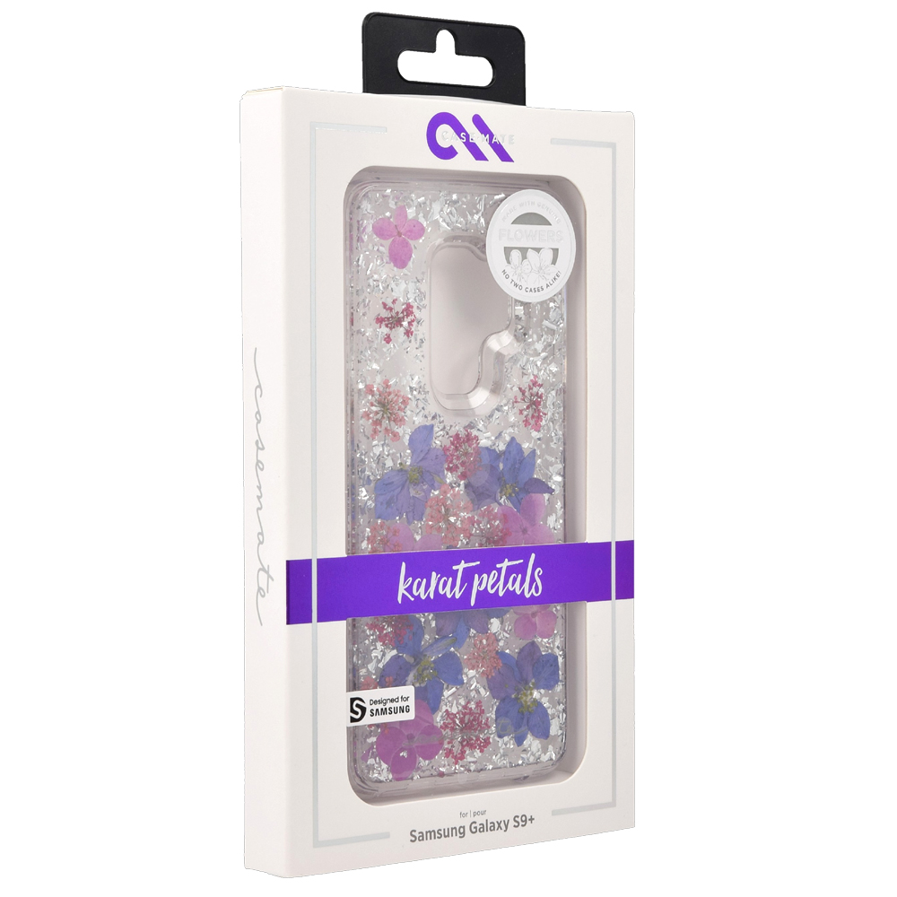 buy popular 55901 3b9fe Etui Case-Mate Karat Petals Galaxy S9 Plus, fioletowe