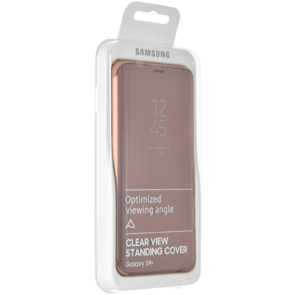 Etui z klapka funkcyjną Samsung Clear View Standing Cover do Galaxy S9 Plus