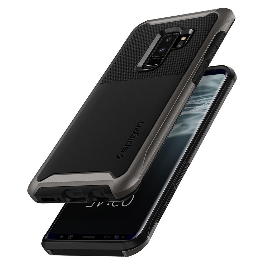the best attitude 48d1c 4df00 Etui Spigen Neo Hybrid Urban Galaxy S9 Plus, stalowe