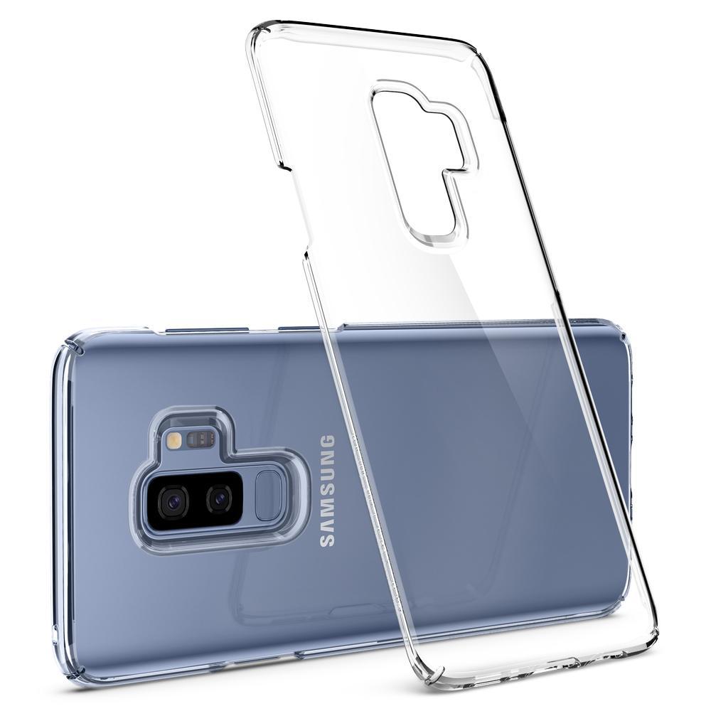 sale retailer bd9dc 6a42c Etui Spigen Thin Fit Galaxy S9 Plus, przezroczyste