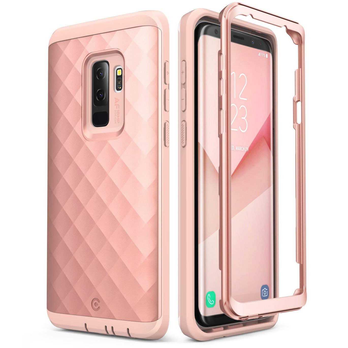 Etui pancerne Supcase Clayco Hera do Galaxy S9 Plus