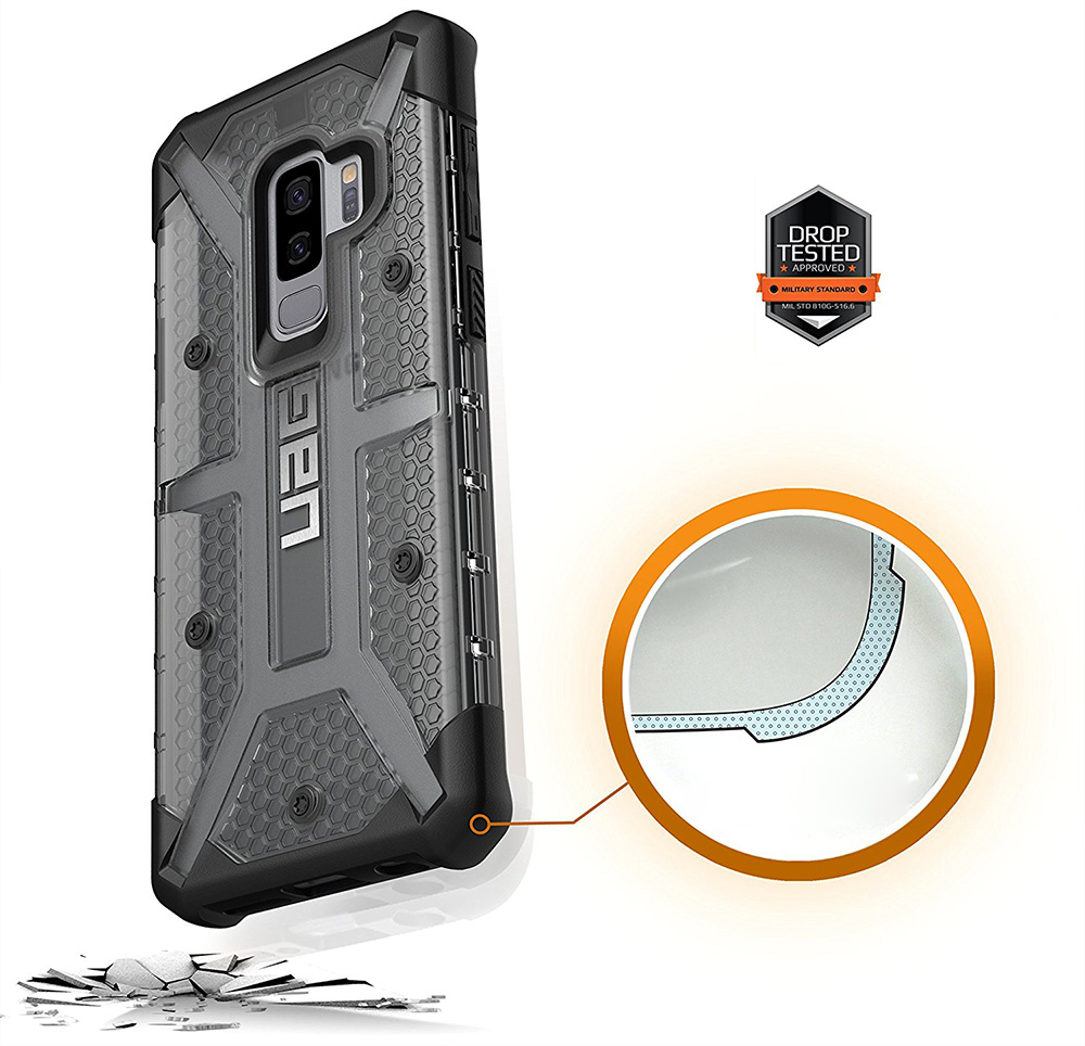 Etui Urban Armor Gear Plasma dla Galaxy S9 Plus case