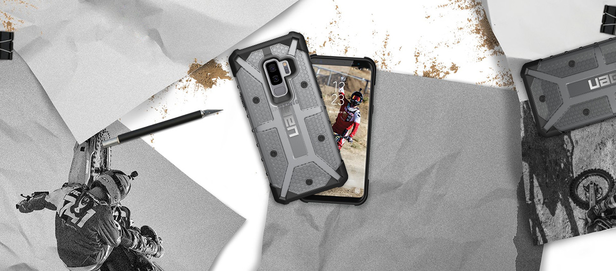 Etui Urban Armor Gear Plasma dla Galaxy S9 Plus