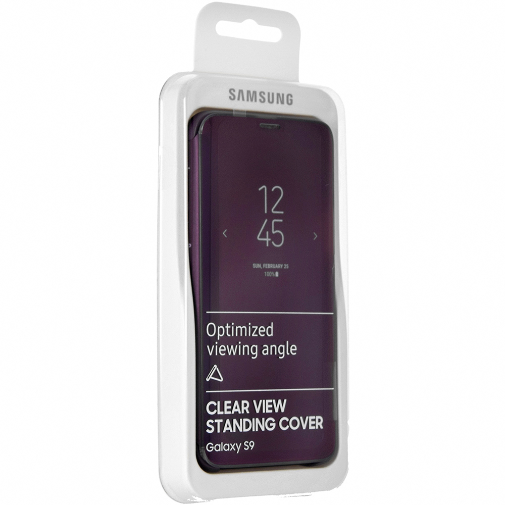 Etui z klapka funkcyjną Samsung Clear View Standing Cover do Galaxy S9