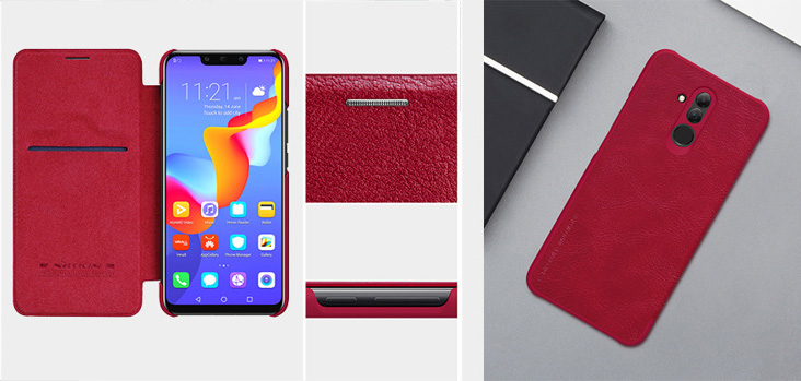 Etui Nillkin QIN Leather Case do Huawei Mate 20 Lite