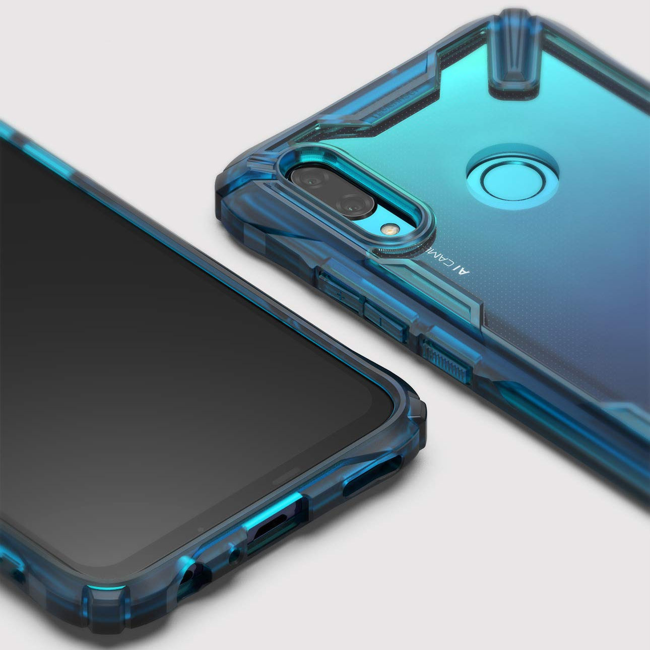 Etui Rearth Ringke Fusion X do Huawei P Smart 2019