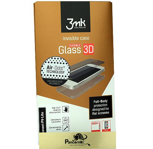 szkło, folia na całość 3mk flexible glass 3D high-grip huawei P9 Lite