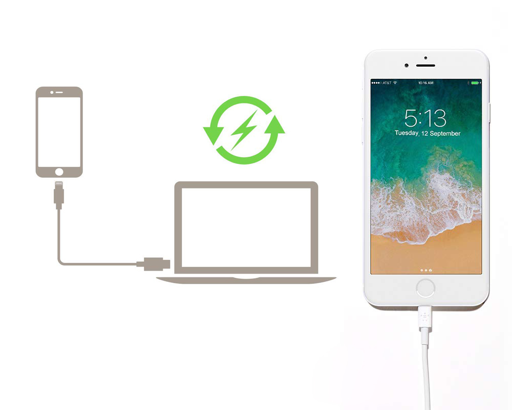 Kabel Belkin BoostCharge USB-C/Lightning