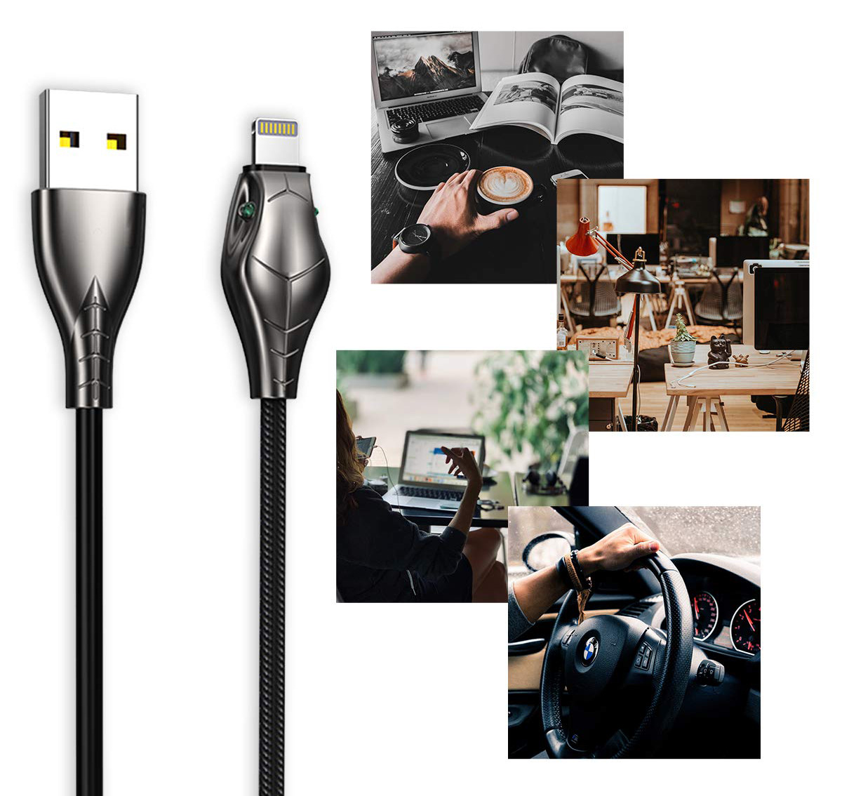 Kabel Benks Black Mamba USB Cable - Lightning