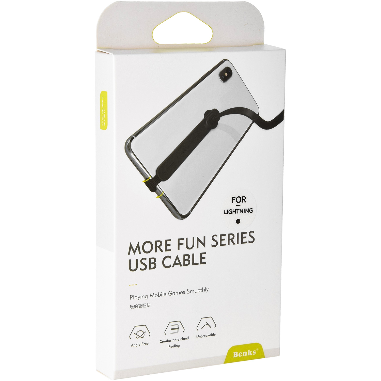 Kabel Benks More Fun Series USB Cable - Lightning