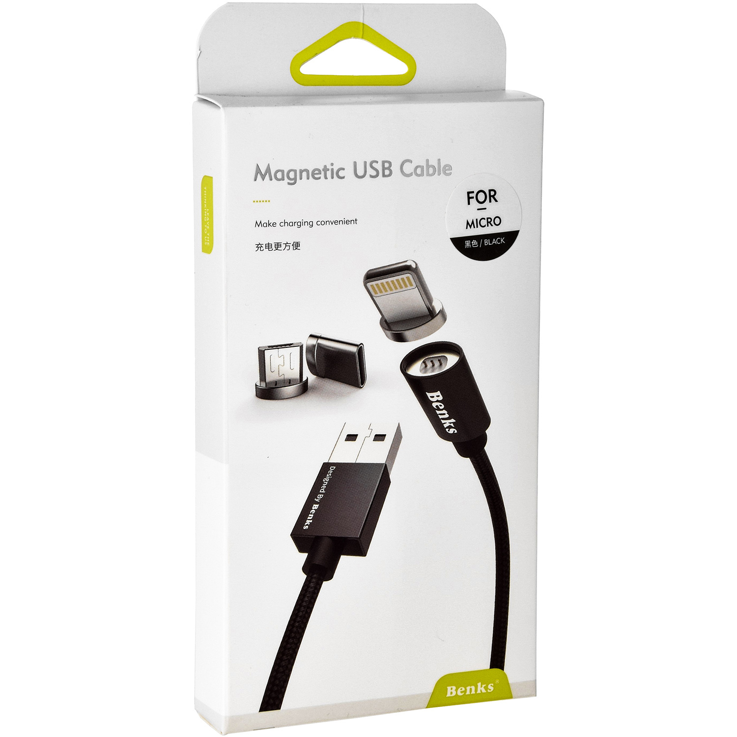 Kabel Benks Magnetic USB Cable - MicroUSB
