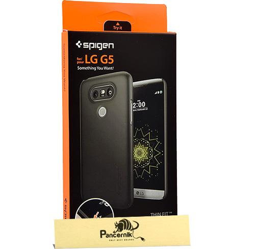 Etui Spigen Thin Fit LG G5, czarne