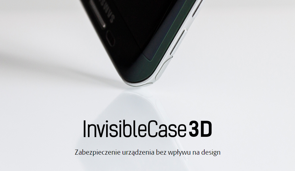 Niewidoczny futerał 3mk Flexible Glass 3D High-Grip dla iPhone 8 Plus