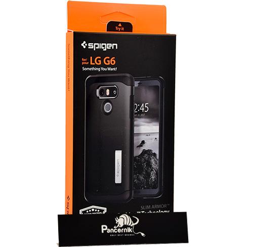 Etui Spigen Slim Armor LG G6, czarne
